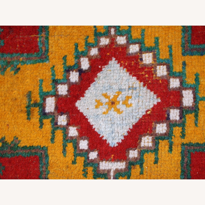 Handmade Antique Moroccan Berber Rug - image-3