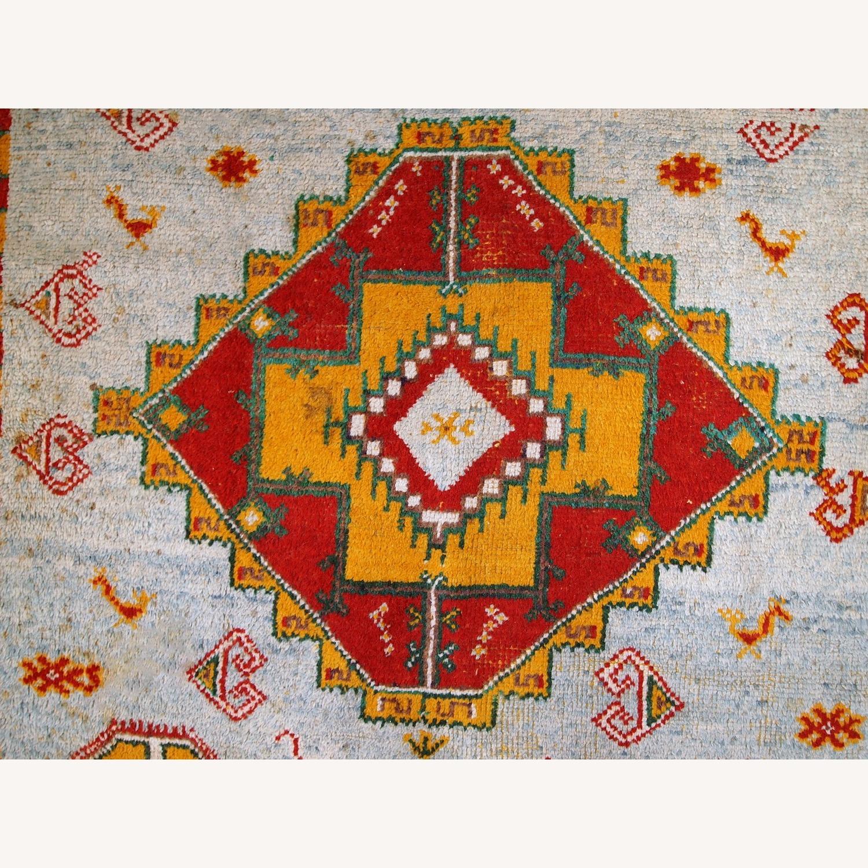 Handmade Antique Moroccan Berber Rug - image-11