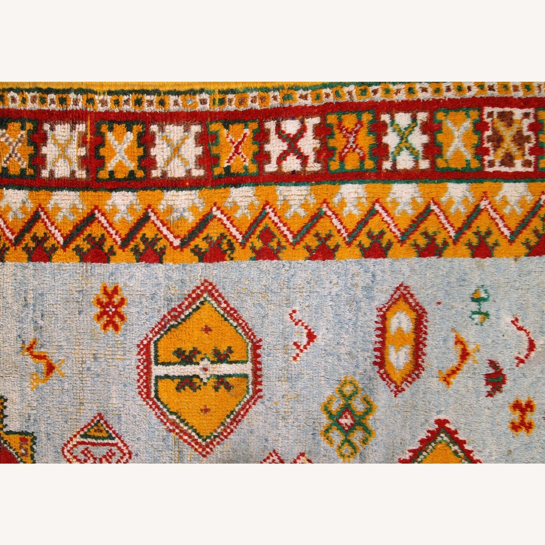 Handmade Antique Moroccan Berber Rug - image-12