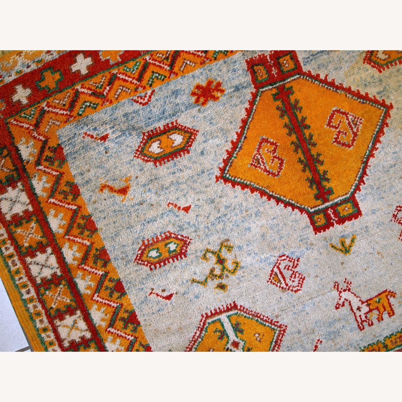 Handmade Antique Moroccan Berber Rug - image-8