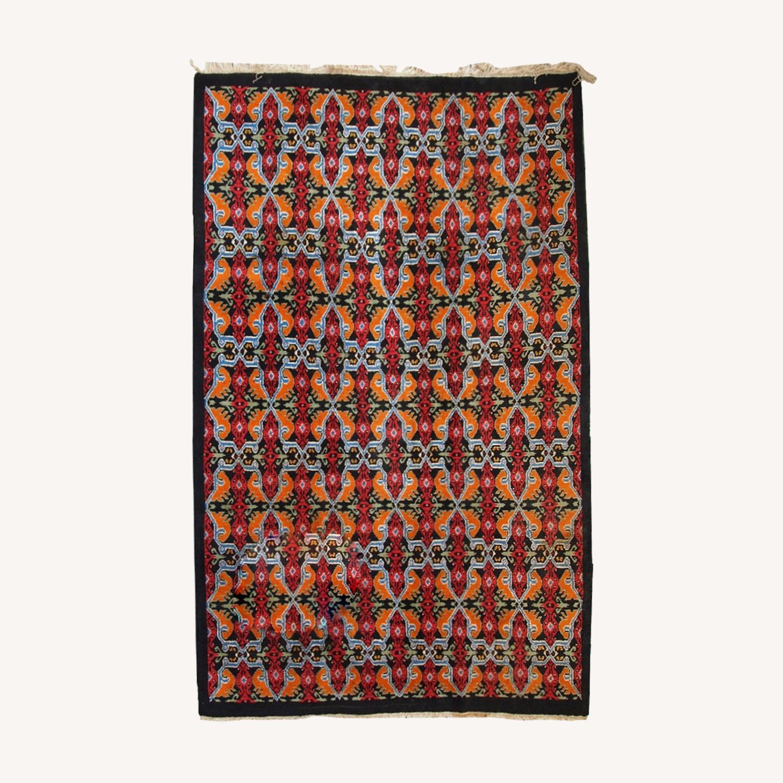 Vintage Moroccan Berber Rug - image-0