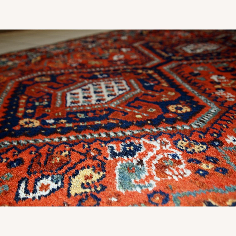 Handmade Antique Persian Gashkai Rug - image-12