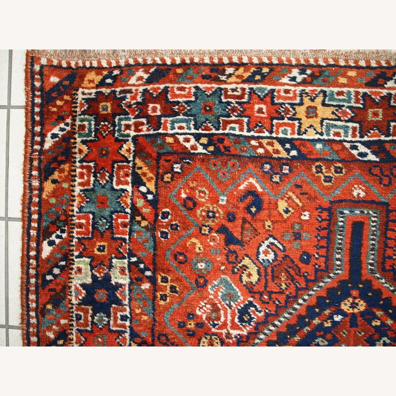 Handmade Antique Persian Gashkai Rug - image-8