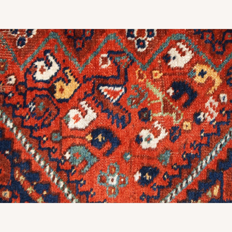 Handmade Antique Persian Gashkai Rug - image-3