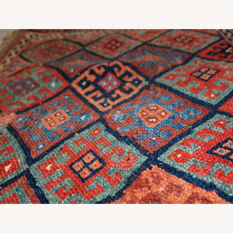Handmade Antique Collectible Persian Kurdish Bag - image-7