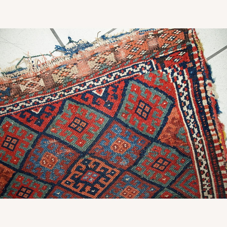 Handmade Antique Collectible Persian Kurdish Bag - image-3