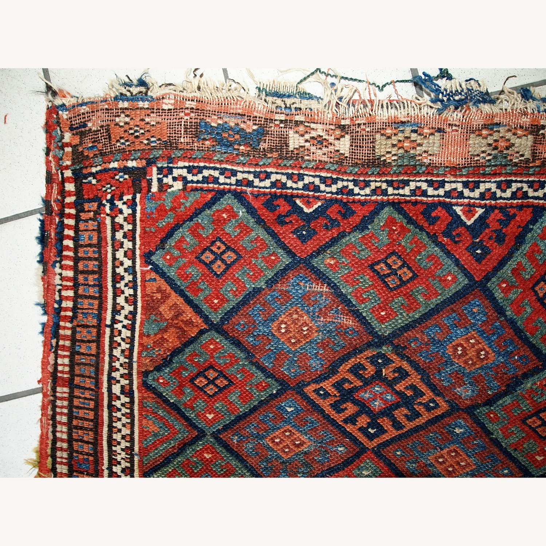 Handmade Antique Collectible Persian Kurdish Bag - image-8