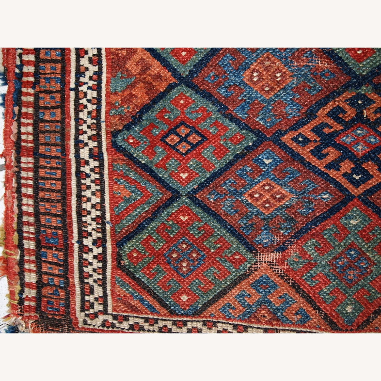 Handmade Antique Collectible Persian Kurdish Bag - image-5