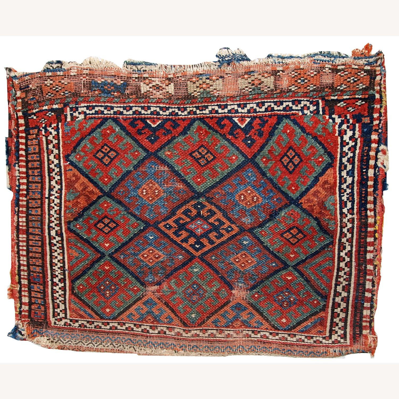 Handmade Antique Collectible Persian Kurdish Bag - image-1