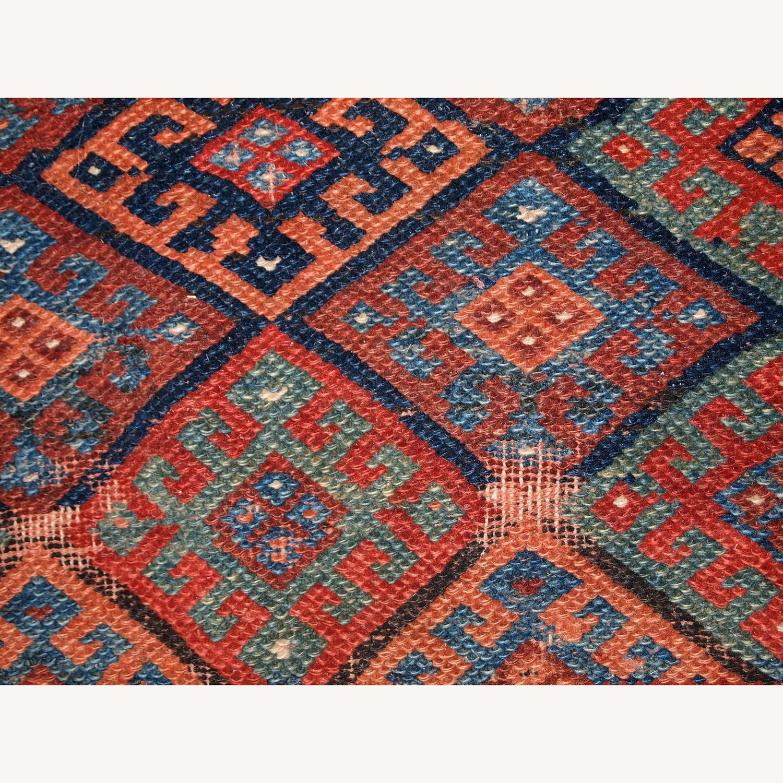 Handmade Antique Collectible Persian Kurdish Bag - image-2