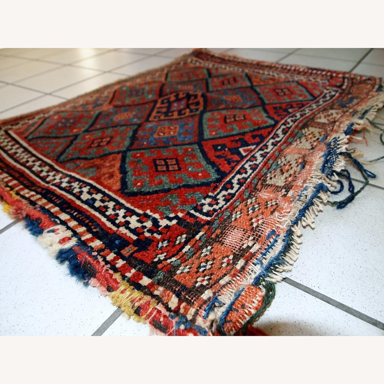 Handmade Antique Collectible Persian Kurdish Bag - image-6