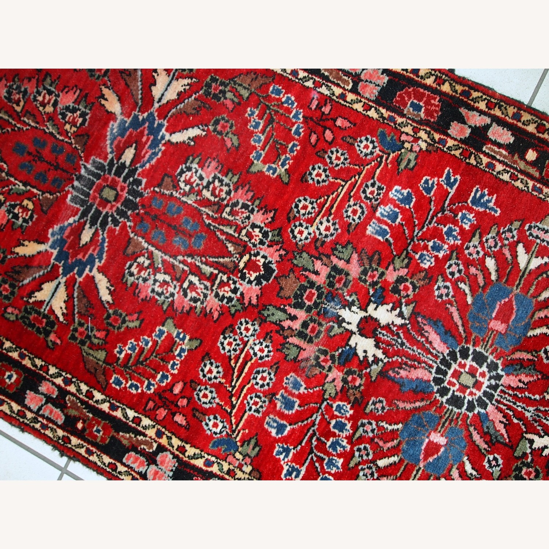 Handmade Antique Persian Lilihan Runner - image-10