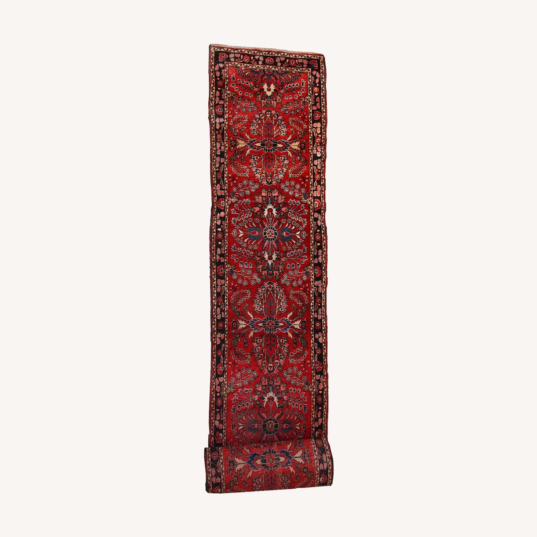 Handmade Antique Persian Lilihan Runner - image-0