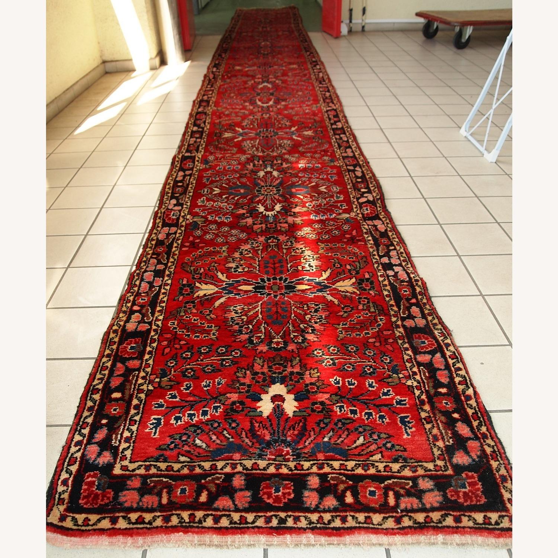 Handmade Antique Persian Lilihan Runner - image-11