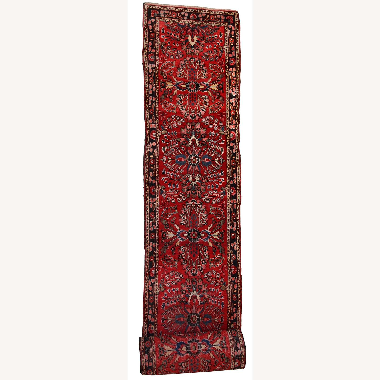 Handmade Antique Persian Lilihan Runner - image-1