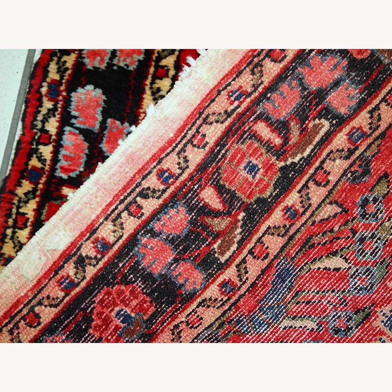 Handmade Antique Persian Lilihan Runner - image-4