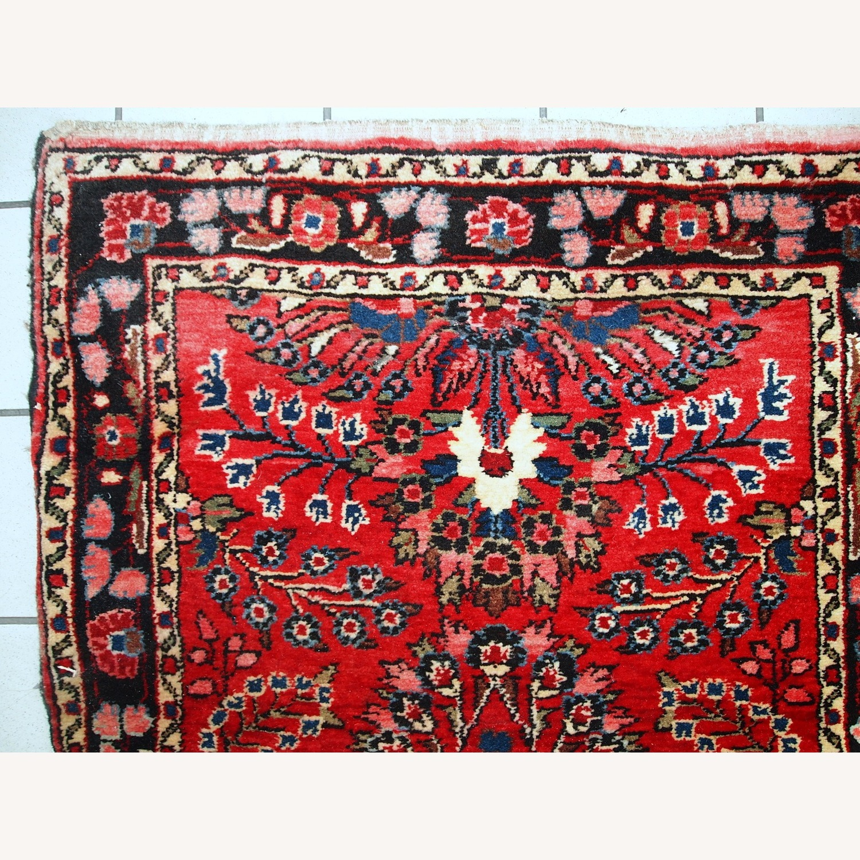 Handmade Antique Persian Lilihan Runner - image-8