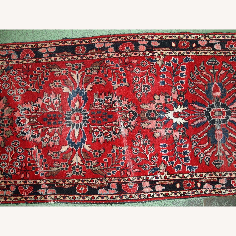 Handmade Antique Persian Lilihan Runner - image-6