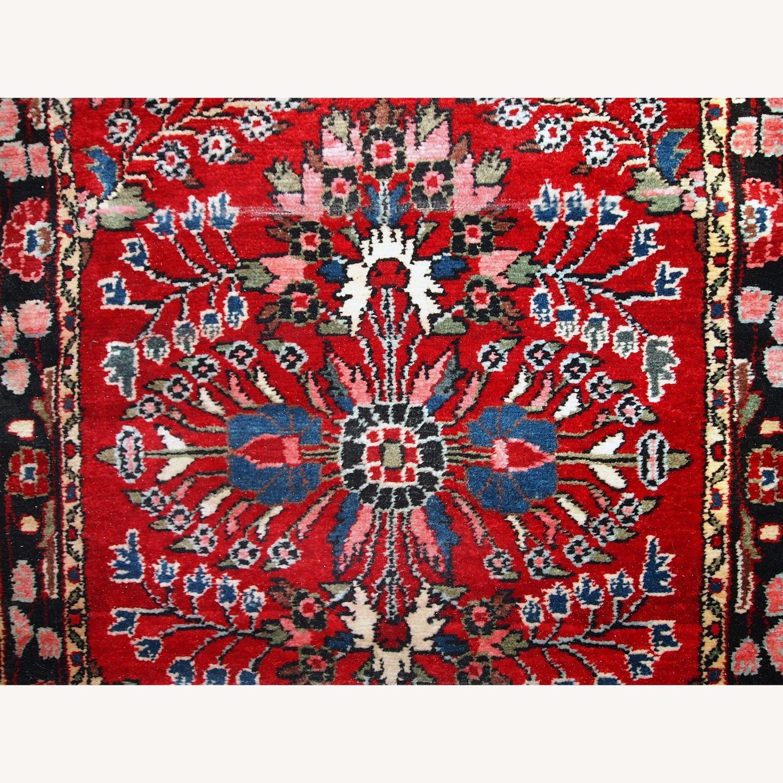 Handmade Antique Persian Lilihan Runner - image-7