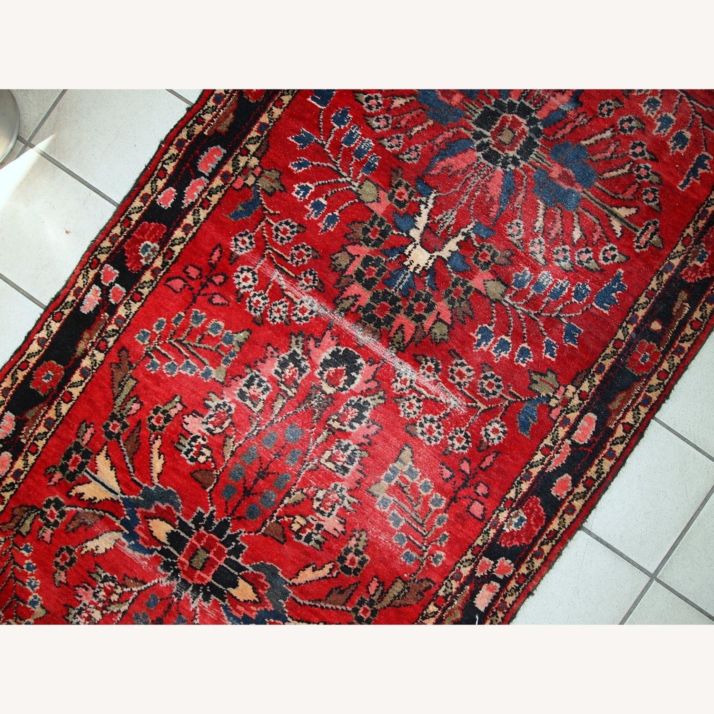 Handmade Antique Persian Lilihan Runner - image-3