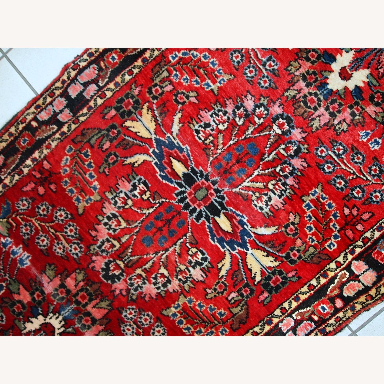Handmade Antique Persian Lilihan Runner - image-9