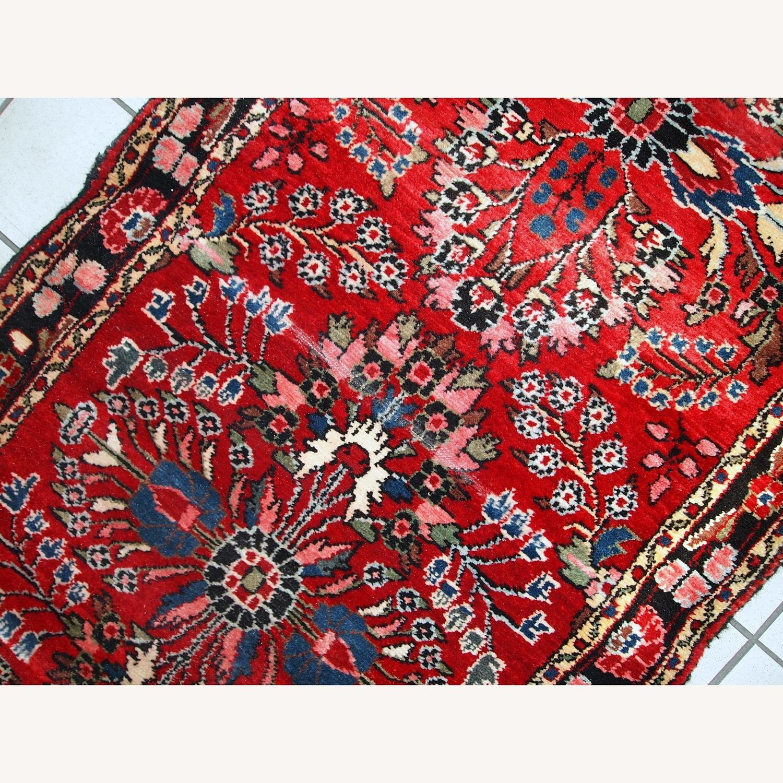 Handmade Antique Persian Lilihan Runner - image-5