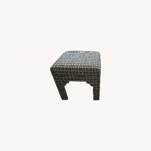 Used Taylor Made Geometric Ottoman for sale on AptDeco