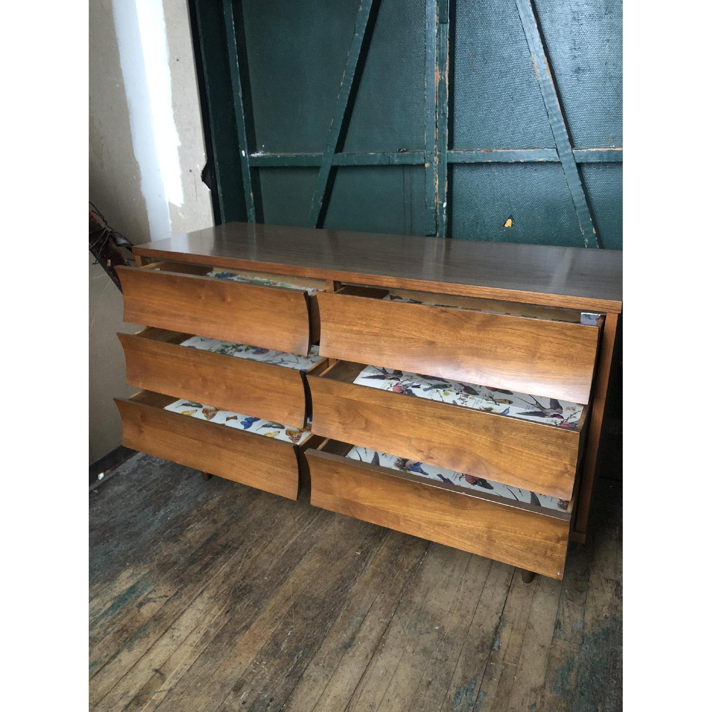 Johnson Carper Mid Century Six Drawer Dresser - image-5
