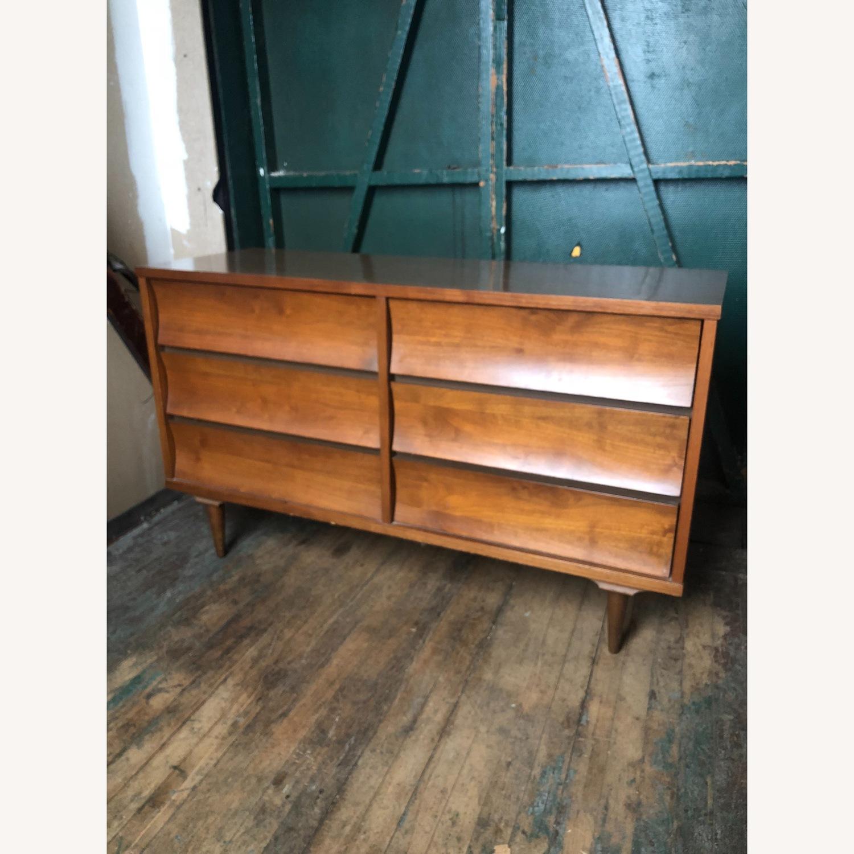 Johnson Carper Mid Century Six Drawer Dresser - image-1