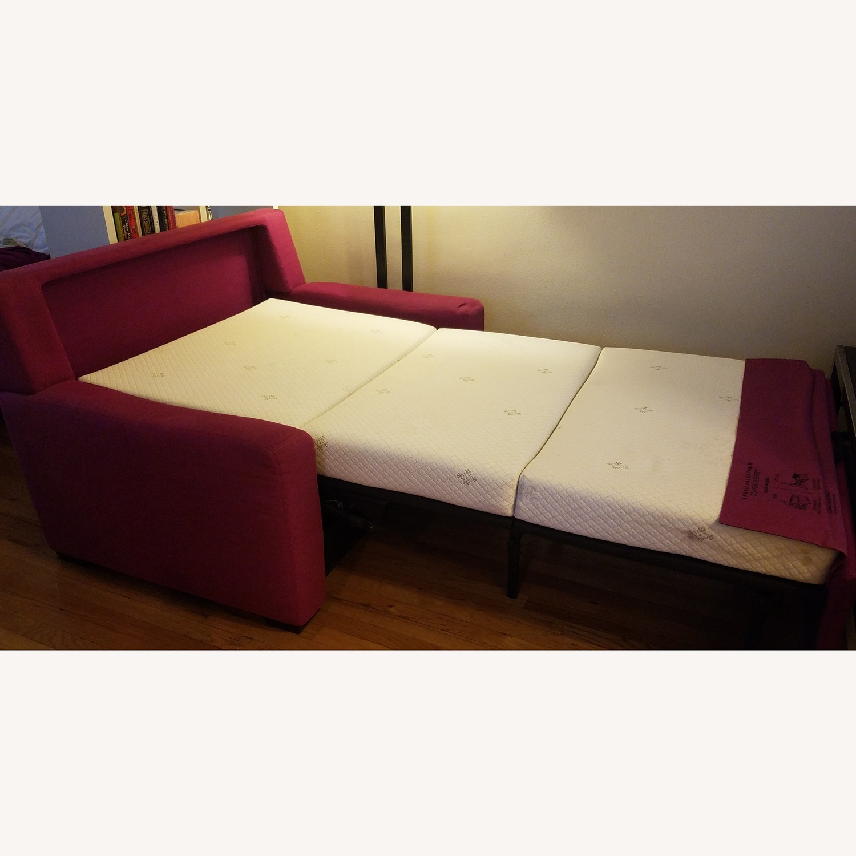 Mulberry Tempurpedic Sleeper Sofa - image-1