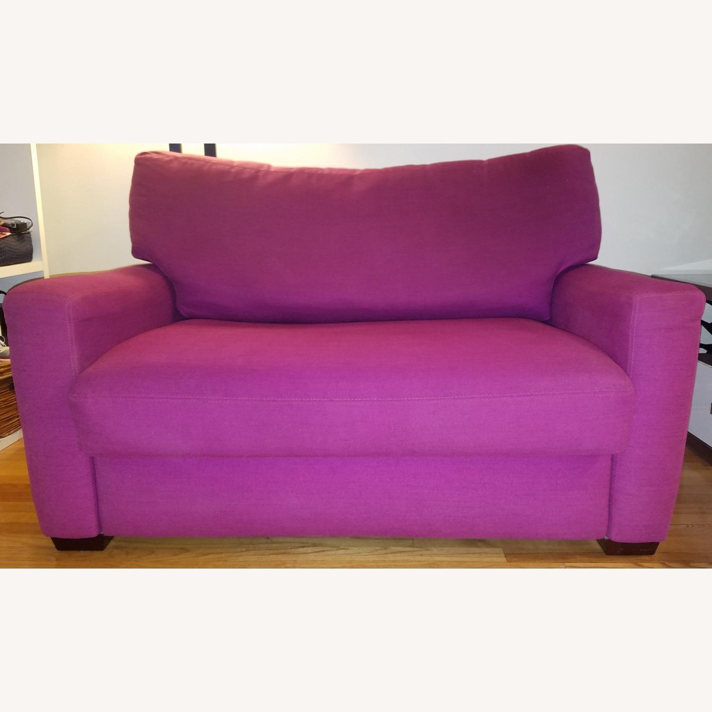 Mulberry Tempurpedic Sleeper Sofa - image-0