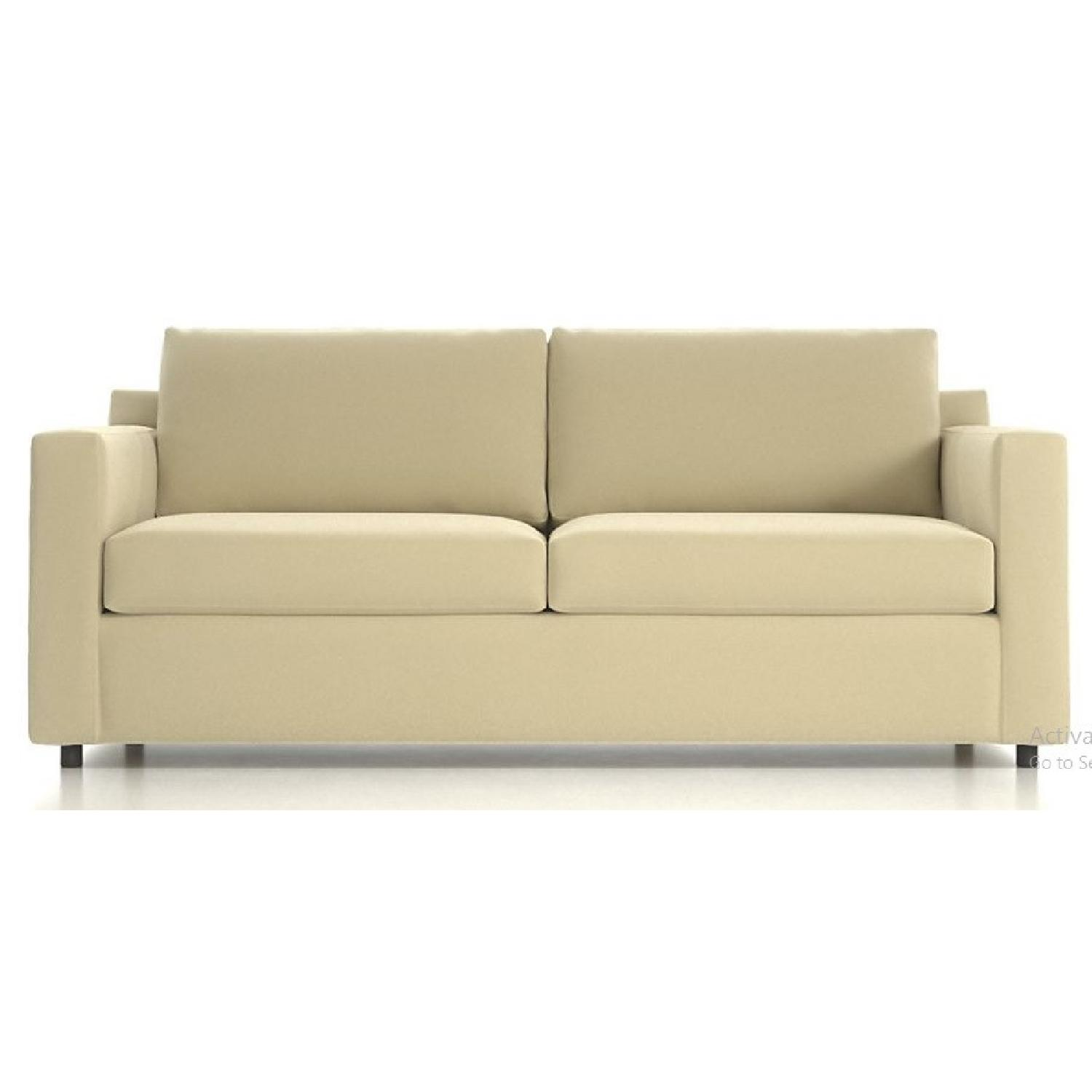 Crate & Barrel Queen Sleeper Sofa - image-0