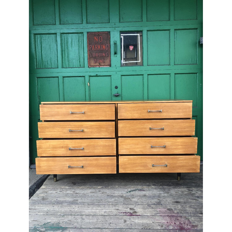 Drexel Mid Century Lowboy 6 Drawer Dresser - image-10