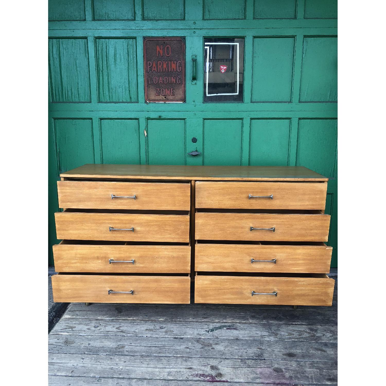 Drexel Mid Century Lowboy 6 Drawer Dresser - image-12