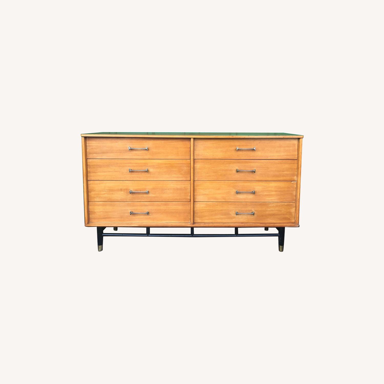Drexel Mid Century Lowboy 6 Drawer Dresser - image-0