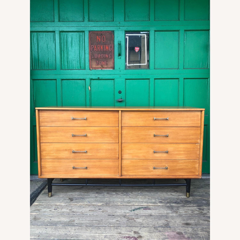 Drexel Mid Century Lowboy 6 Drawer Dresser - image-1