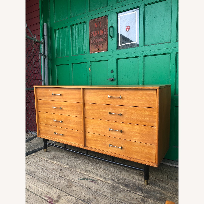 Drexel Mid Century Lowboy 6 Drawer Dresser - image-2