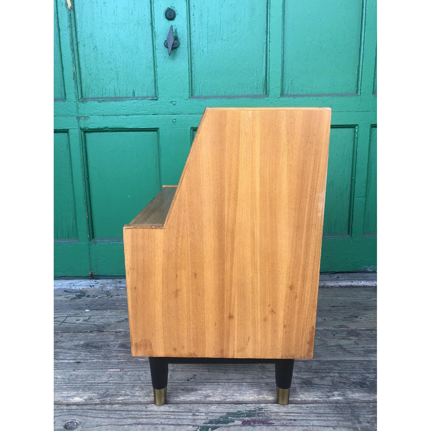 Mid century nightstand with drop front by Drexel - image-7