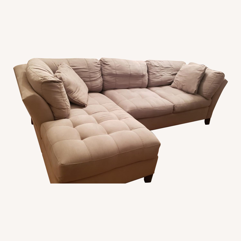 Raymour Flanigan Cindy Crawford Metroplis Sectional Sofa Aptdeco
