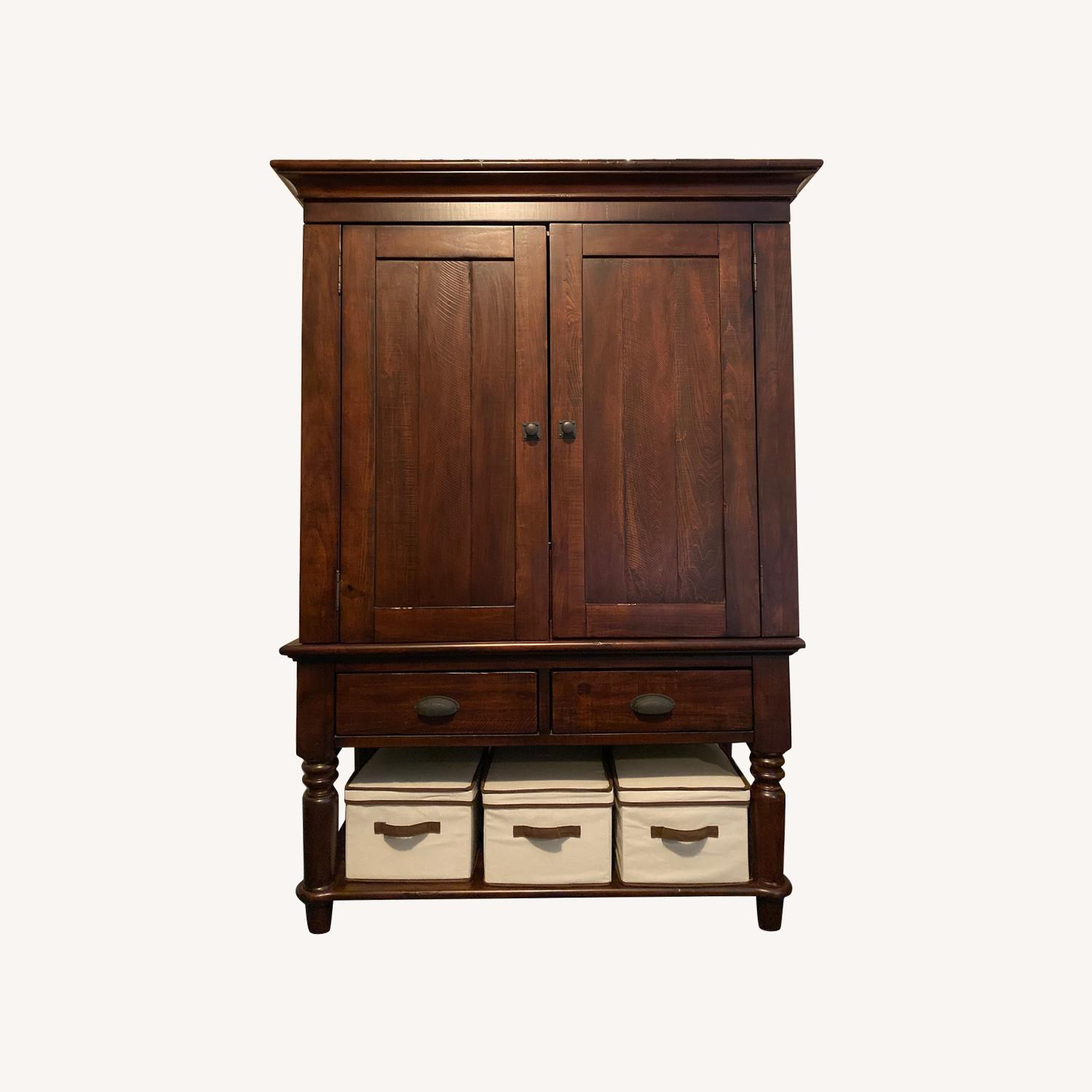Pottery Barn Armoire - image-0