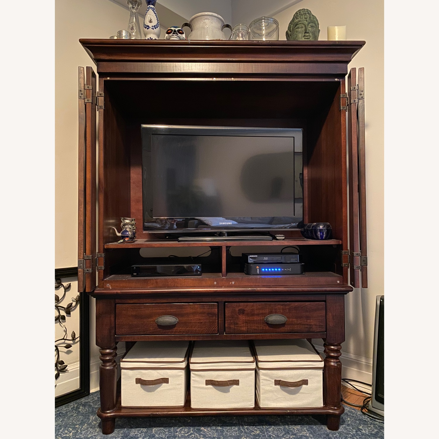 Pottery Barn Armoire - image-2
