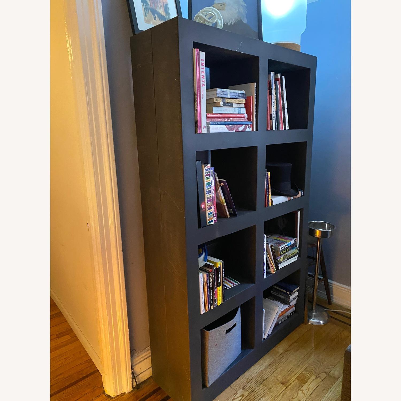 Crate & Barrel Contemporary Masculine Metal Bookcase - image-1