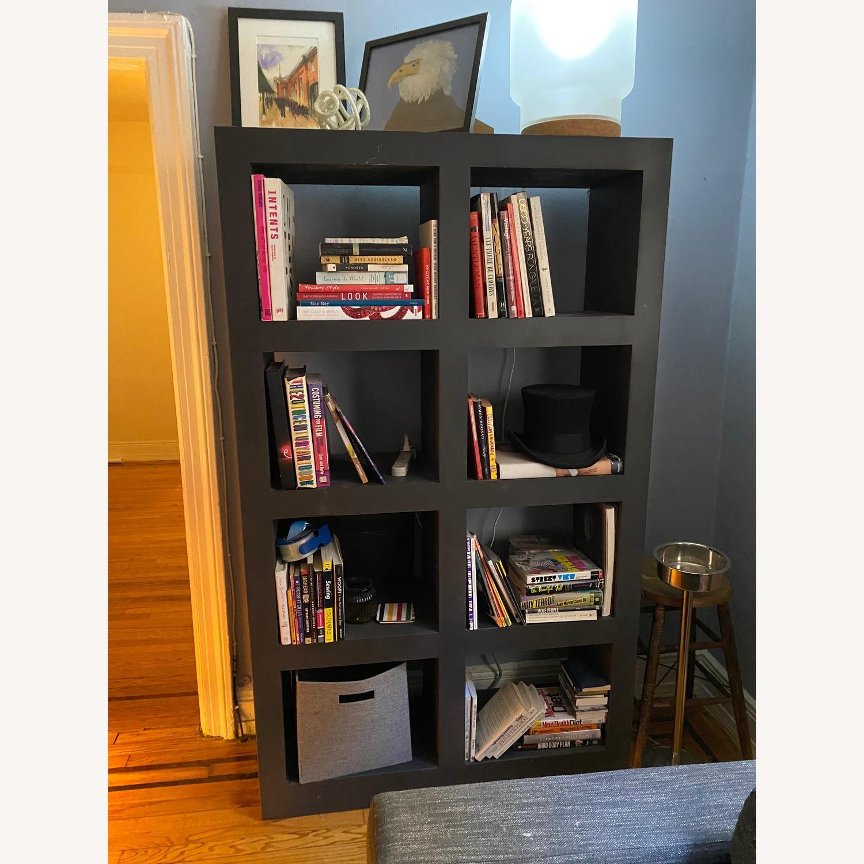 Crate & Barrel Contemporary Masculine Metal Bookcase - image-3