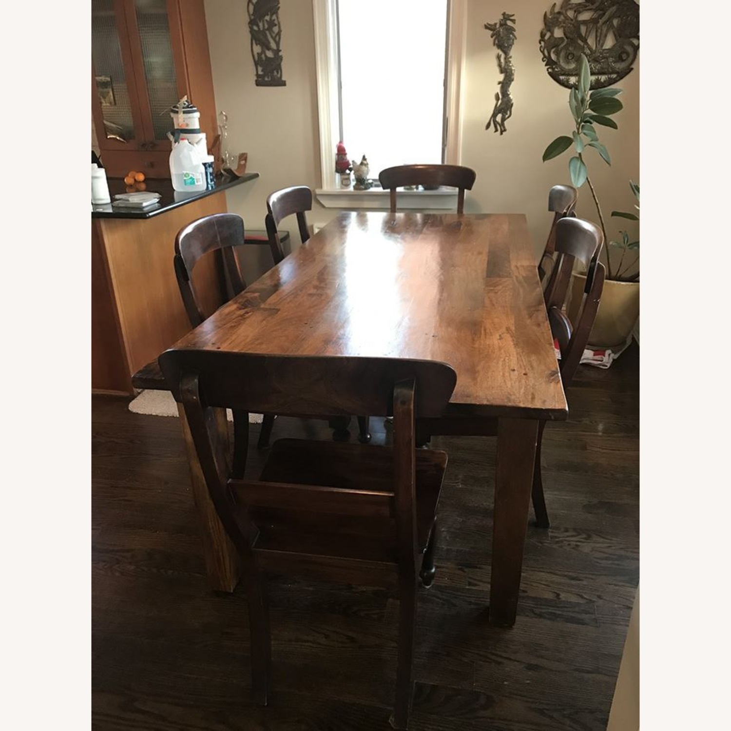 Crate & Barrel Farm House Dining table - image-1