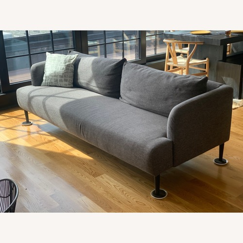 Used CB2 Ronan Grey Sofa for sale on AptDeco