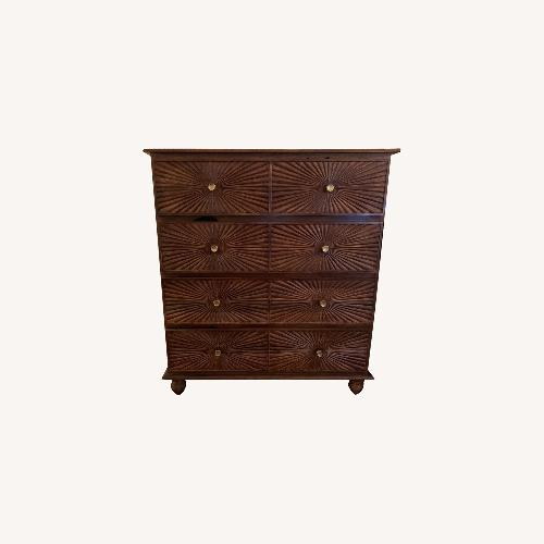 Used Urban Outfitters Sunburst 4-Drawer Dresser for sale on AptDeco