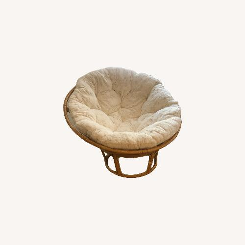 Used Pier 1 Imports Papasan Chair for sale on AptDeco