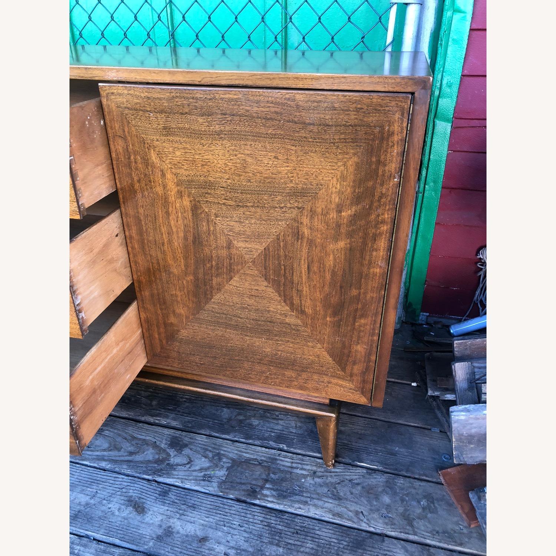 Mid Century Modern Lowboy Dresser with Mirrors - image-14