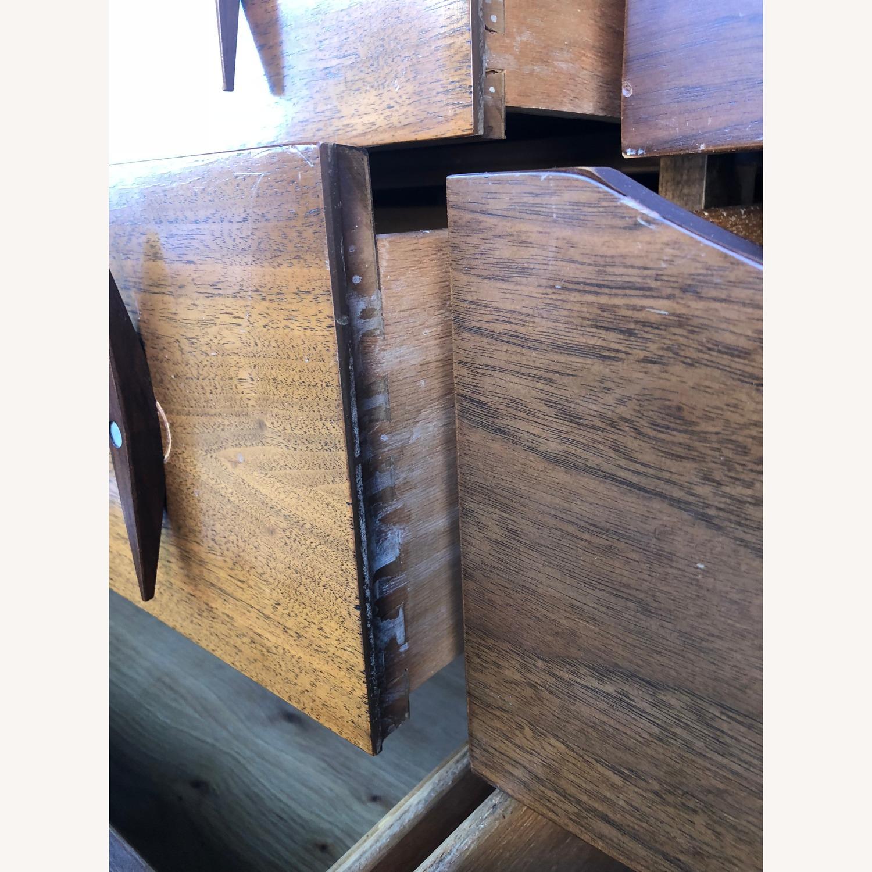 Mid Century Modern Lowboy Dresser with Mirrors - image-6