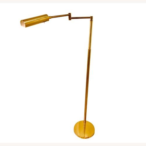 Used Mid-Century Koch & Lowy Gold Floor Lamp for sale on AptDeco